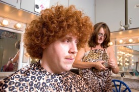 "###Rare Redhead: Peter Prevete, 19, Ocala### Redheaded Peter Prevete, left, 19, of Ocala, has his hair cut for the role of ""Friar Tuck"" for ""Robin Hood"" at the CFCC theatre. Rose Fant, of Morriston, a cosmetologist, prepares to start the more then one hour hair cut. He has aproxatimely 2.5 to 3 inch curly hair, Thursday afternoon, April 14, 2005, Ocala, FL, USA. (Jannet Walsh/Star-Banner)2005"