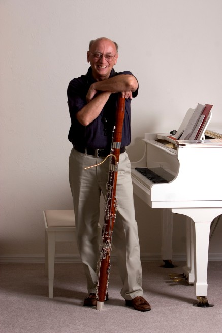 ###NEWS Arnold Irchai (cq), is a University of Florida Assistant Professor at the School of Music, is a world-class bassoonist, originally from Moscow, at his home, Gainesville, FL CONTACT PHOTOGRAPHER 352-598-7976 - cell### Arnold Irchai (cq), is a University of Florida Assistant Professor at the School of Music, is a world-class bassoonist, originally from Moscow, at his home, Gainesville, Wednesday evening, September 21, 2005, Gainesville, FL. ( Jannet Walsh/Star-Banner)2005