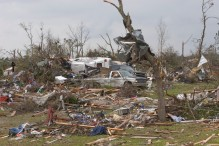 ###Ocala Star-Banner - Day after tornados in the Lake Mack area, Deland, FL### Devastation of homes near Lake Mack area located east of Paisley and west of Deland and just south of Lake County Road 42, Saturday afternoon, Feb. 3, 2007, Deland, FL. ( Jannet Walsh/Star-Banner)2007